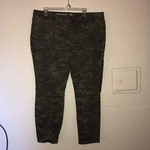 Ava and viv plus size camp pants